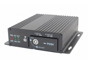 AHD 4CH High-end Dual SD Card Mobile DVR M12H