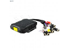 4 Channel H.265 SSD 1080P Mobile DVR With Vehicle Real-time Surveillance Camera System